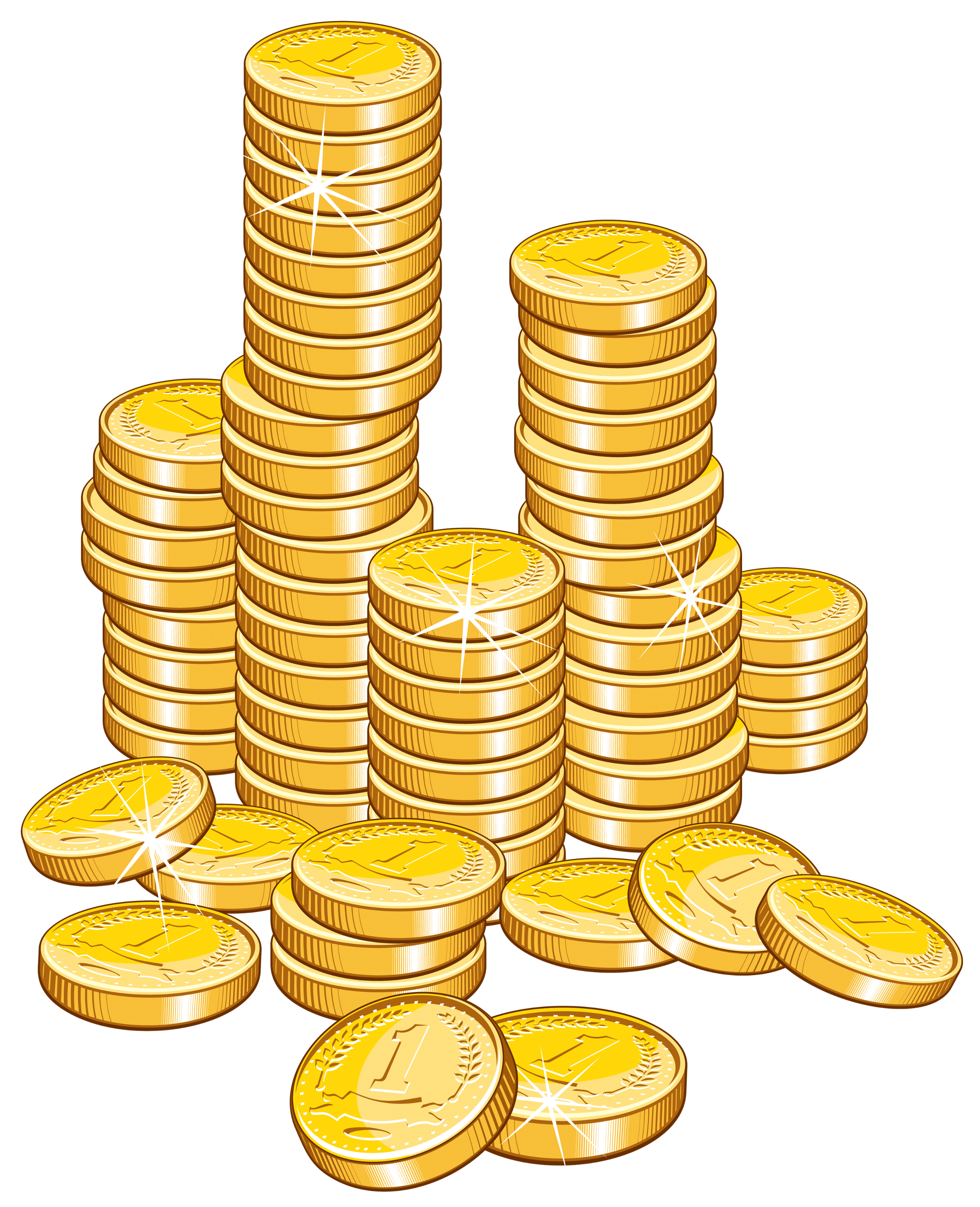 Free clipart money stacks banner transparent library Coins Stack PNG Clipart Picture | Gallery Yopriceville - High ... banner transparent library