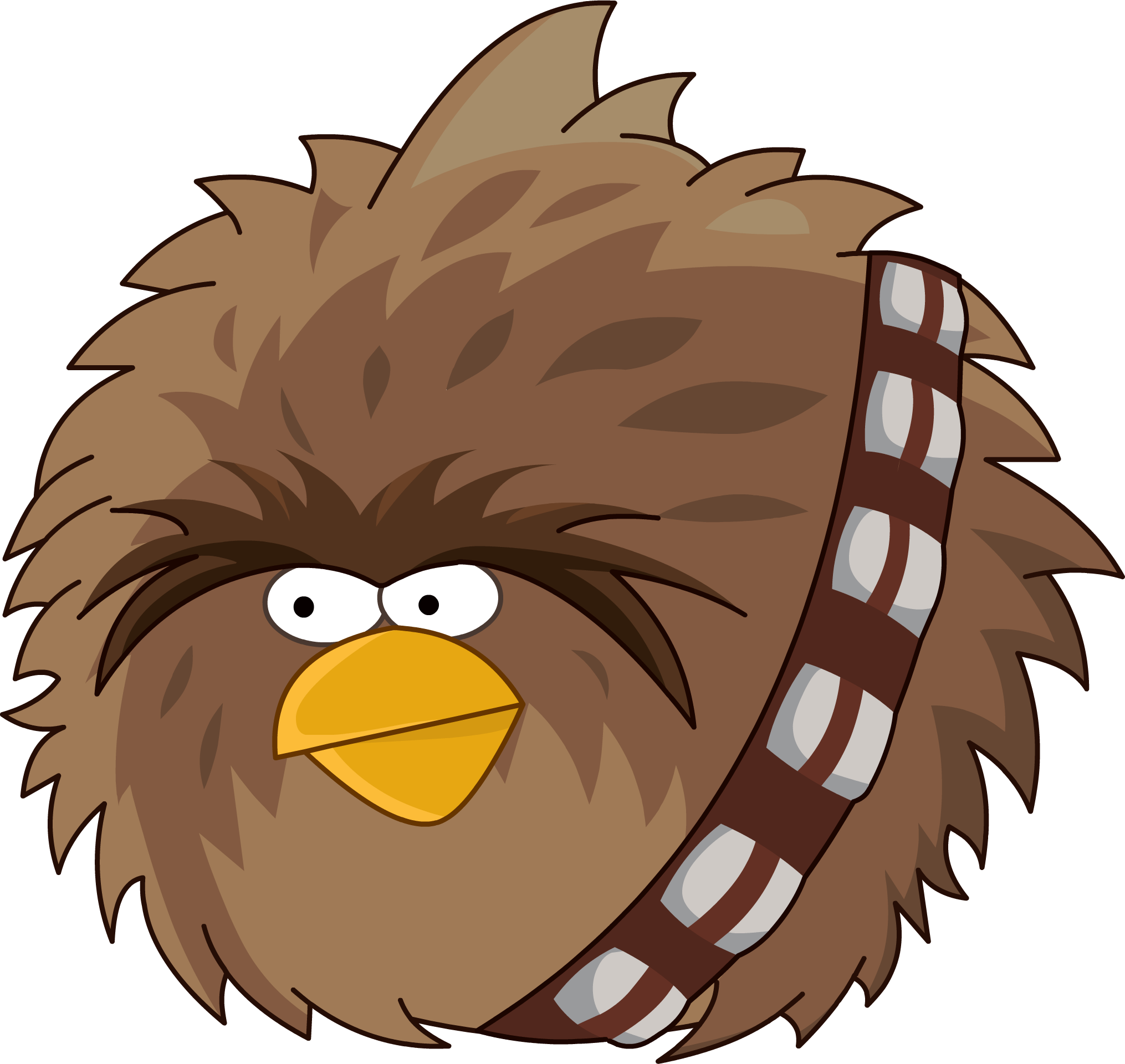 Free star wars chewie clipart png transparent Chewbacca (Terrence the Big Brother Bird) | Heroes Wiki | FANDOM ... png transparent