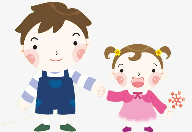 Cartoon clipart siblings picture freeuse Cartoon Siblings, Cartoon Clipart, Carto #67600 - PNG Images - PNGio picture freeuse