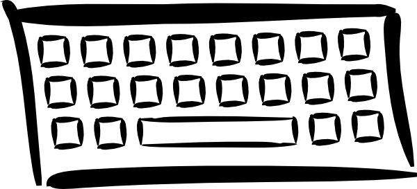 Cartoon computer keyboard clipart image royalty free download Computer Keyboard Images | Free Download Clip Art | Free Clip Art ... image royalty free download