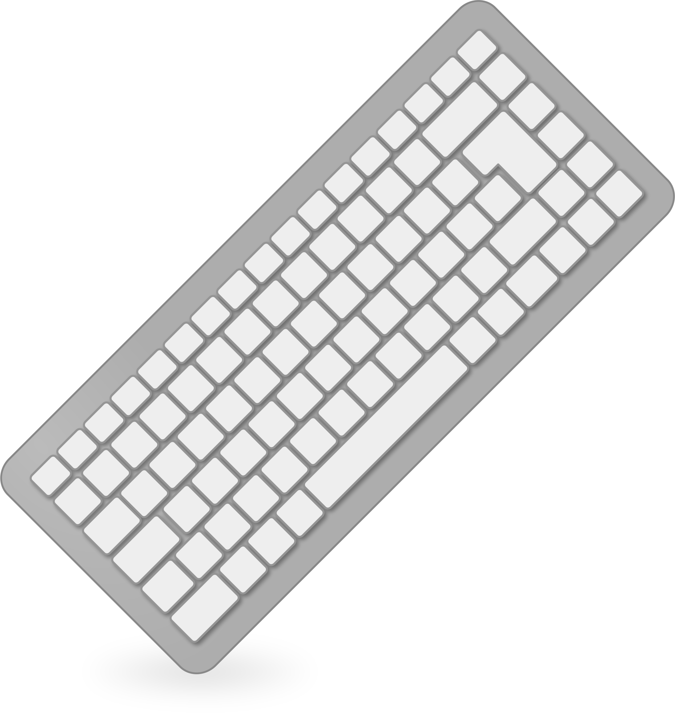 Cartoon computer keyboard clipart image royalty free download Computer Keyboard Black And White Clipart Clip art of Keyboard ... image royalty free download