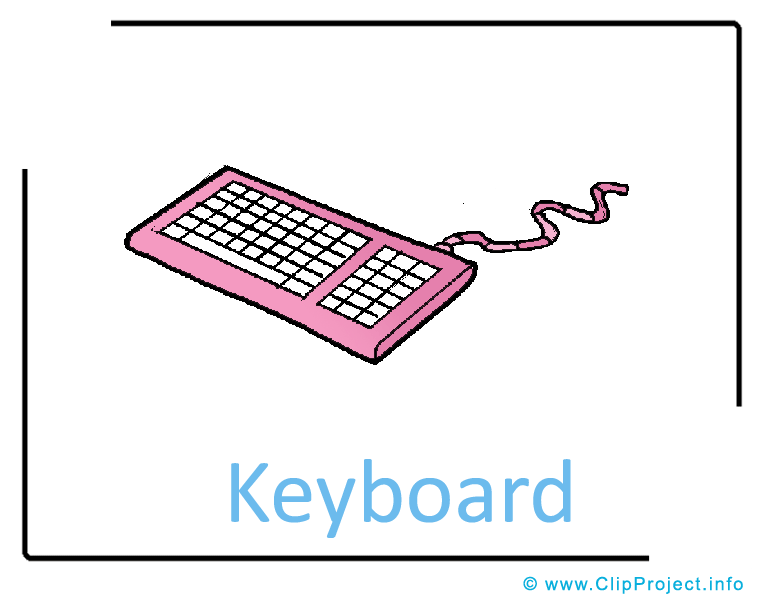 Cartoon computer keyboard clipart graphic library library Cartoon computer keyboard clipart - ClipartFest graphic library library