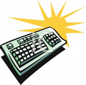 Cartoon computer keyboard clipart clipart library library Cartoon computer keyboard clipart - ClipartFest clipart library library