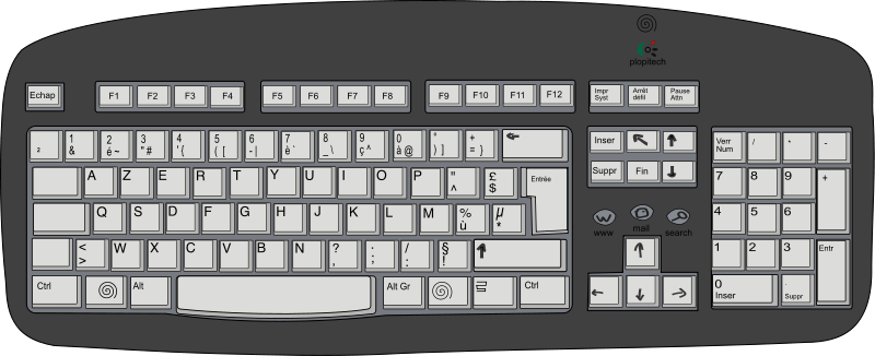 Cartoon computer keyboard clipart picture freeuse Cartoon computer keyboard clipart - ClipartFest picture freeuse