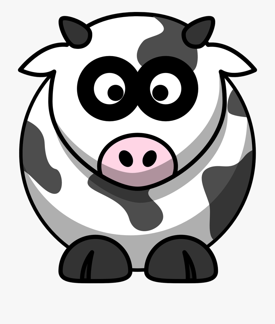 Cartoon cow silhouette clipart graphic transparent Clipart Cartoon Cow , Transparent Cartoon, Free Cliparts ... graphic transparent