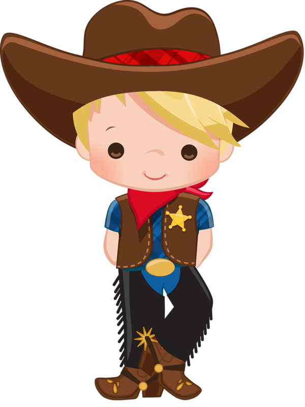 Girl in cowboy hat lawn mower clipart free png royalty free library Cowboy and indian clip art clipart images gallery for free download ... png royalty free library