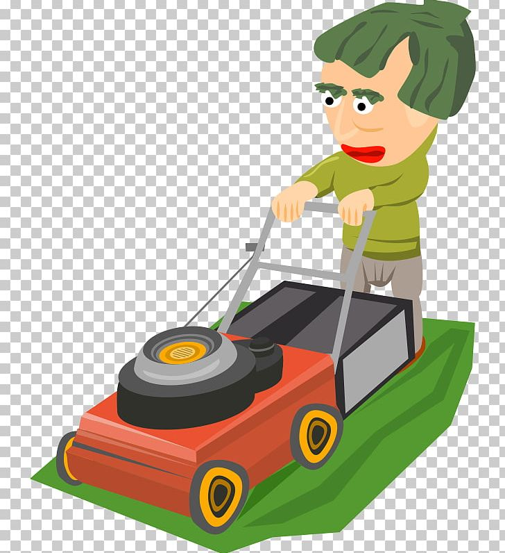 Cartoon cowgirl hat lawn mower clipart free svg royalty free library Lawn Mowers Garden PNG, Clipart, Cartoon, Clip Art, Cutting ... svg royalty free library