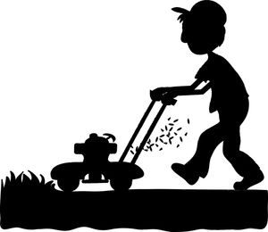 Lawnmowing clipart clip art black and white library Lawn mower lawn mowing silhouettes clipart - Cliparting.com ... clip art black and white library