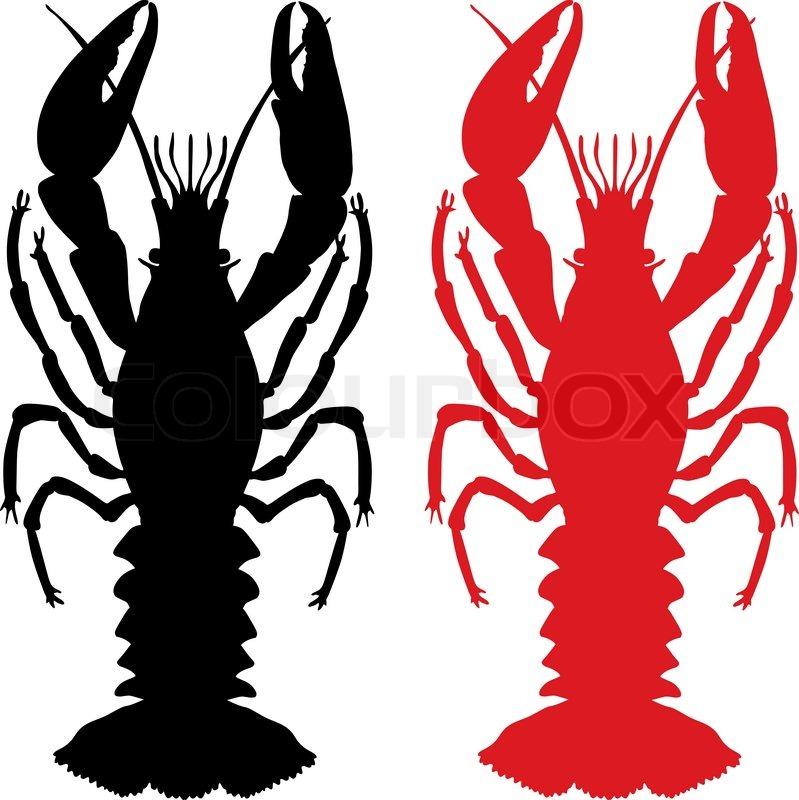 Cartoon crawfish clipart free graphic royalty free Crawfish Cartoon Clip Art Vector free image graphic royalty free