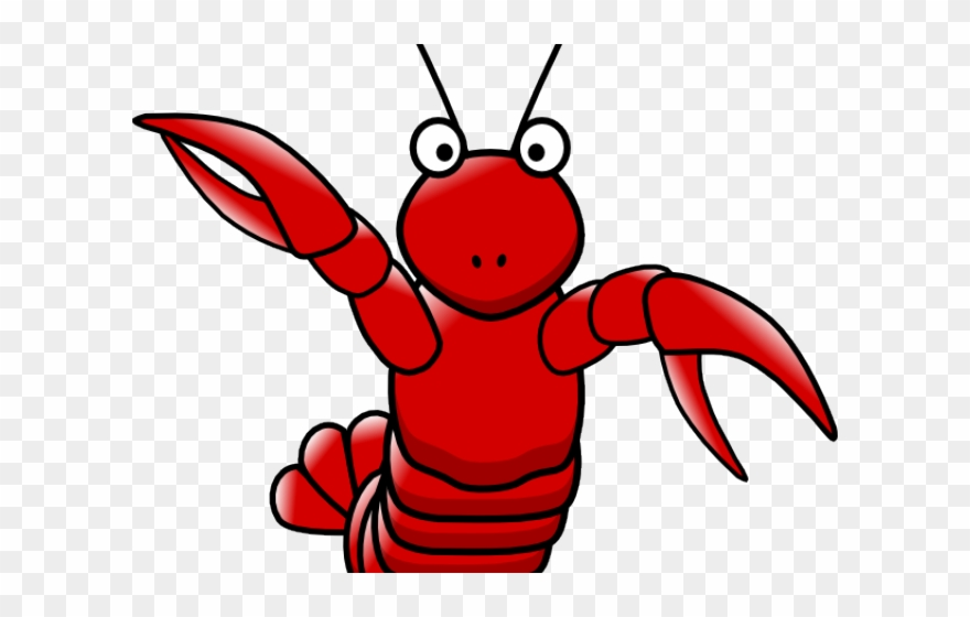 Cartoon crawfish clipart free graphic black and white Crayfish Clipart Crawfish Beer - Cartoon Lobster Transparent ... graphic black and white