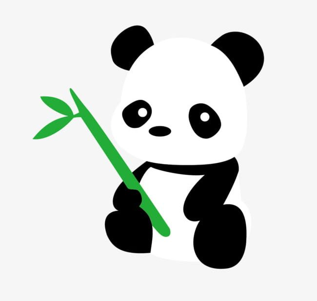 Cartoon Cute Panda PNG, Clipart, Animals, Cartoon, Cartoon Clipart ... graphic black and white