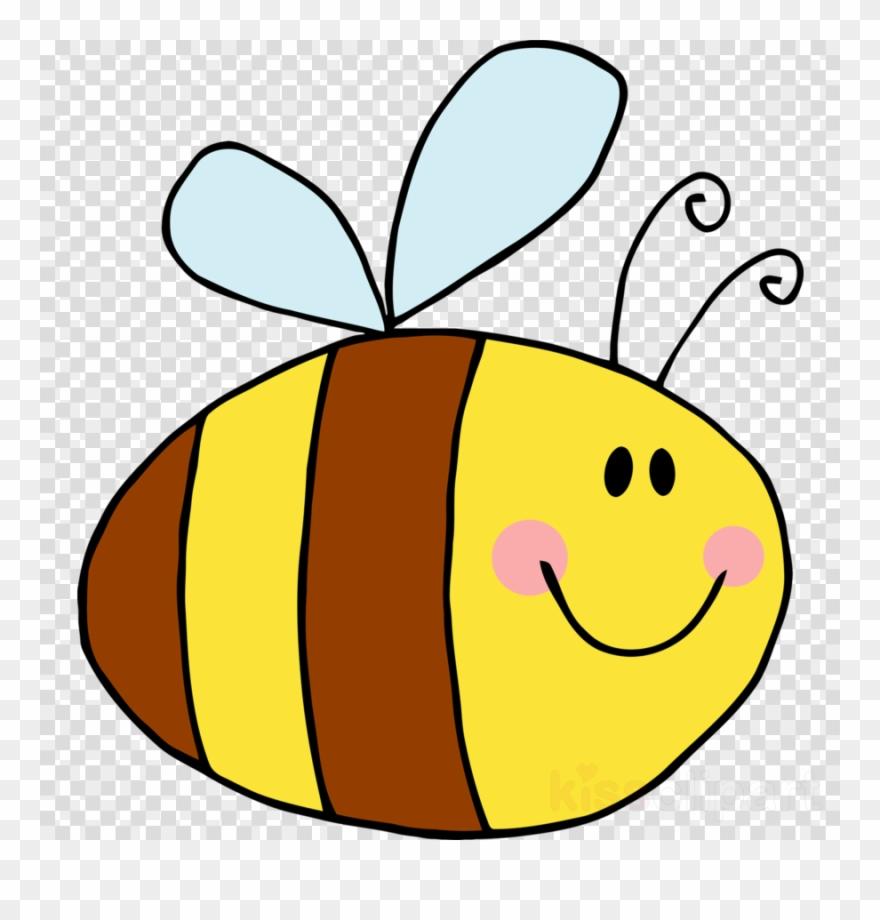 Bee Cartoon Png Cute Clipart Bee Clip Art - Cartoon Bees Transparent ... jpg black and white