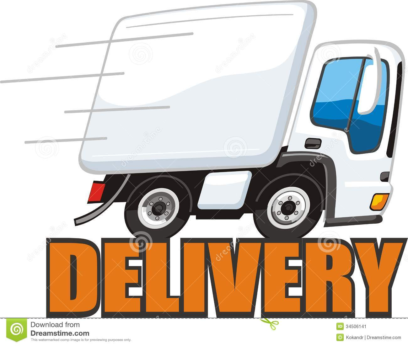 Cartoon delivery truck clipart vector royalty free stock Collection of Delivery truck clipart | Free download best Delivery ... vector royalty free stock