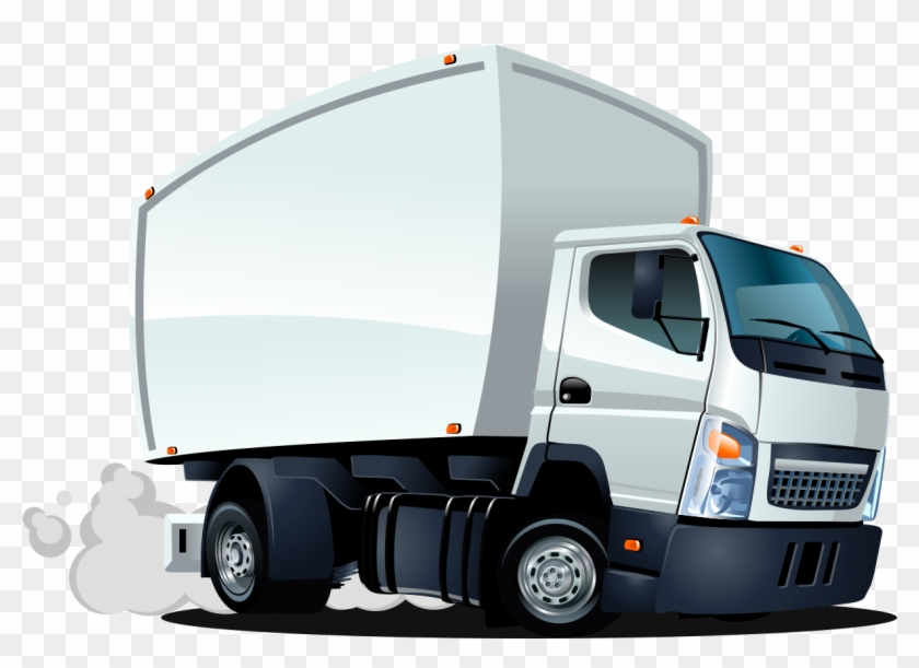 Cartoon delivery truck clipart clip royalty free stock Delivery Truck Clipart Png - Delivery Truck Cartoon, Transparent Png ... clip royalty free stock