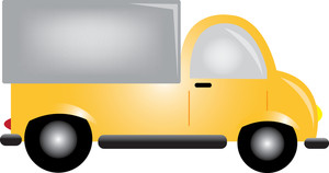 Cartoon delivery truck clipart image transparent stock Free Delivery Truck Clipart Image 0515-1005-2102-5219 | Car Clipart image transparent stock