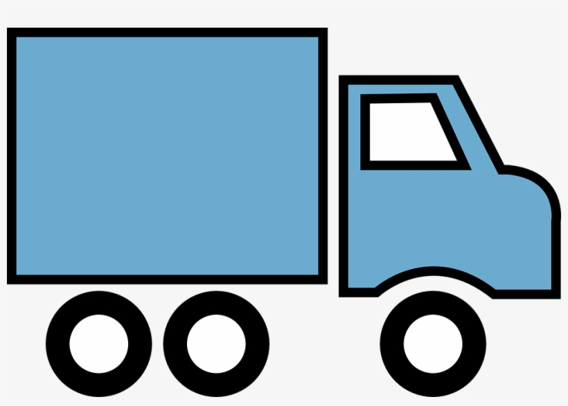 Cartoon delivery truck clipart jpg transparent Renting A Moving Truck - Delivery Truck Clipart Transparent PNG ... jpg transparent