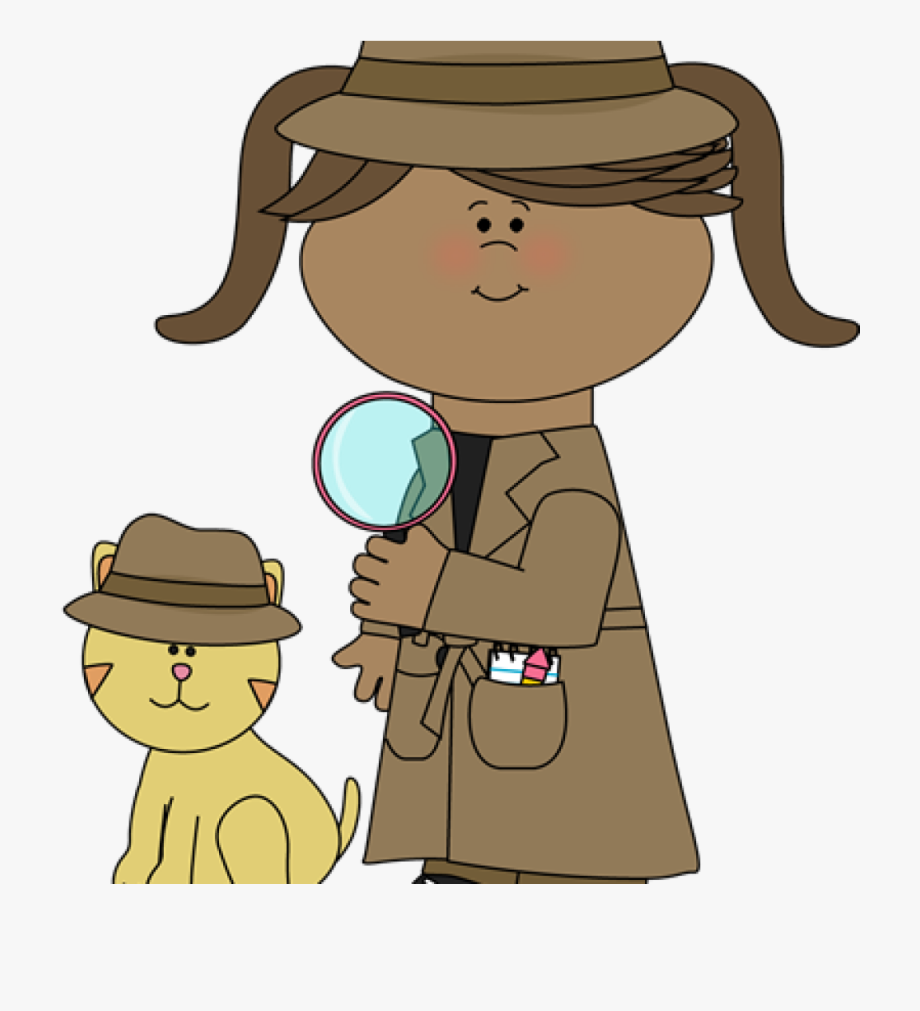 Cartoon detective clipart png free stock Detective Clipart Student - Girl Walking Clip Art #2302633 - Free ... png free stock