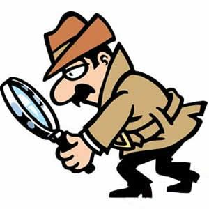 Cartoon detective clipart svg freeuse download Magnifying Glass Detective Clipart | Free download best Magnifying ... svg freeuse download
