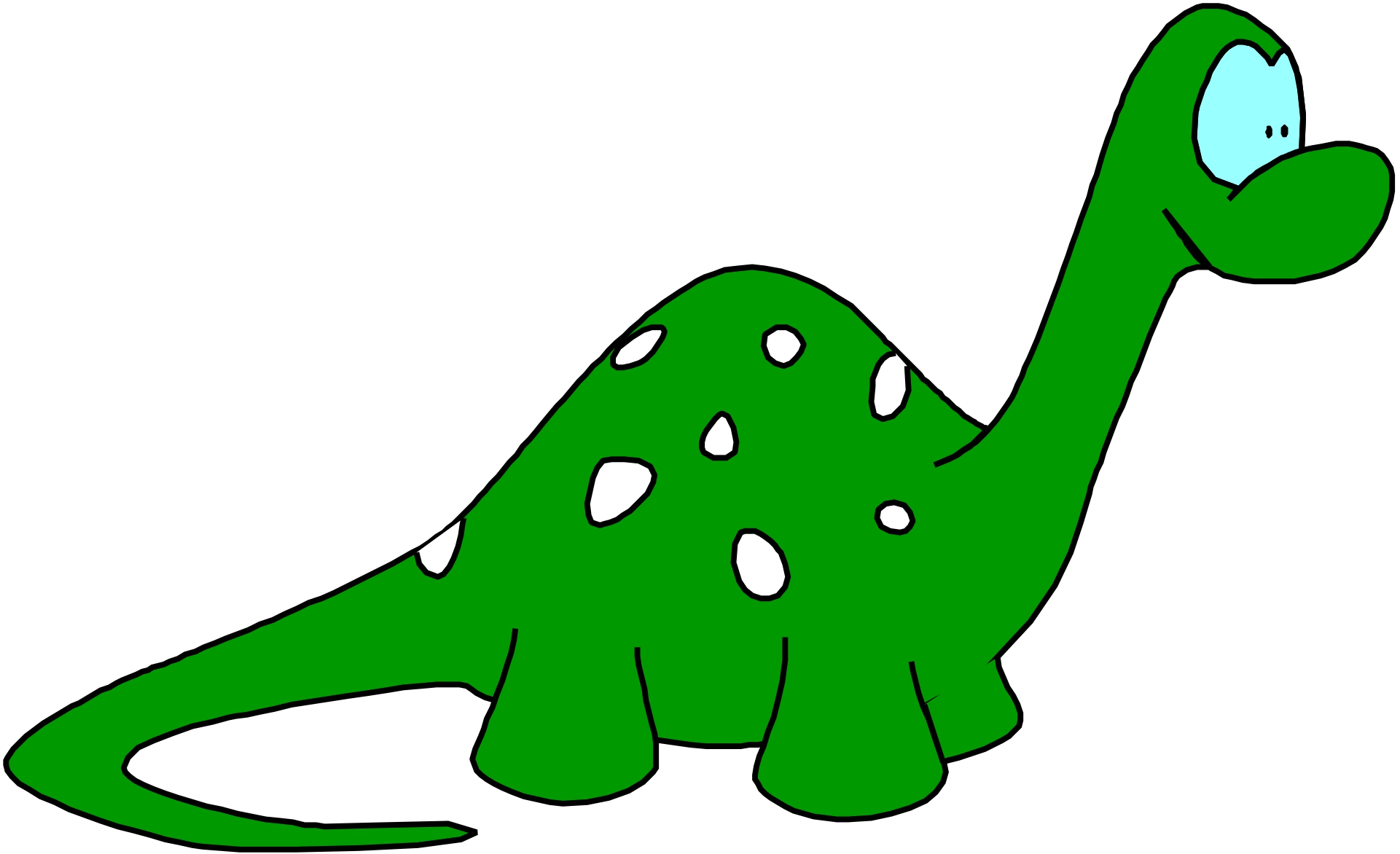 Green dinosaur clipart image black and white library Free Cartoon Dinosaur Cliparts, Download Free Clip Art, Free Clip ... image black and white library