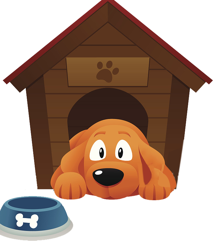 Clipart dog house clip library download Dog Houses Pet sitting Kennel Clip art - A puppy lying on the ground ... clip library download