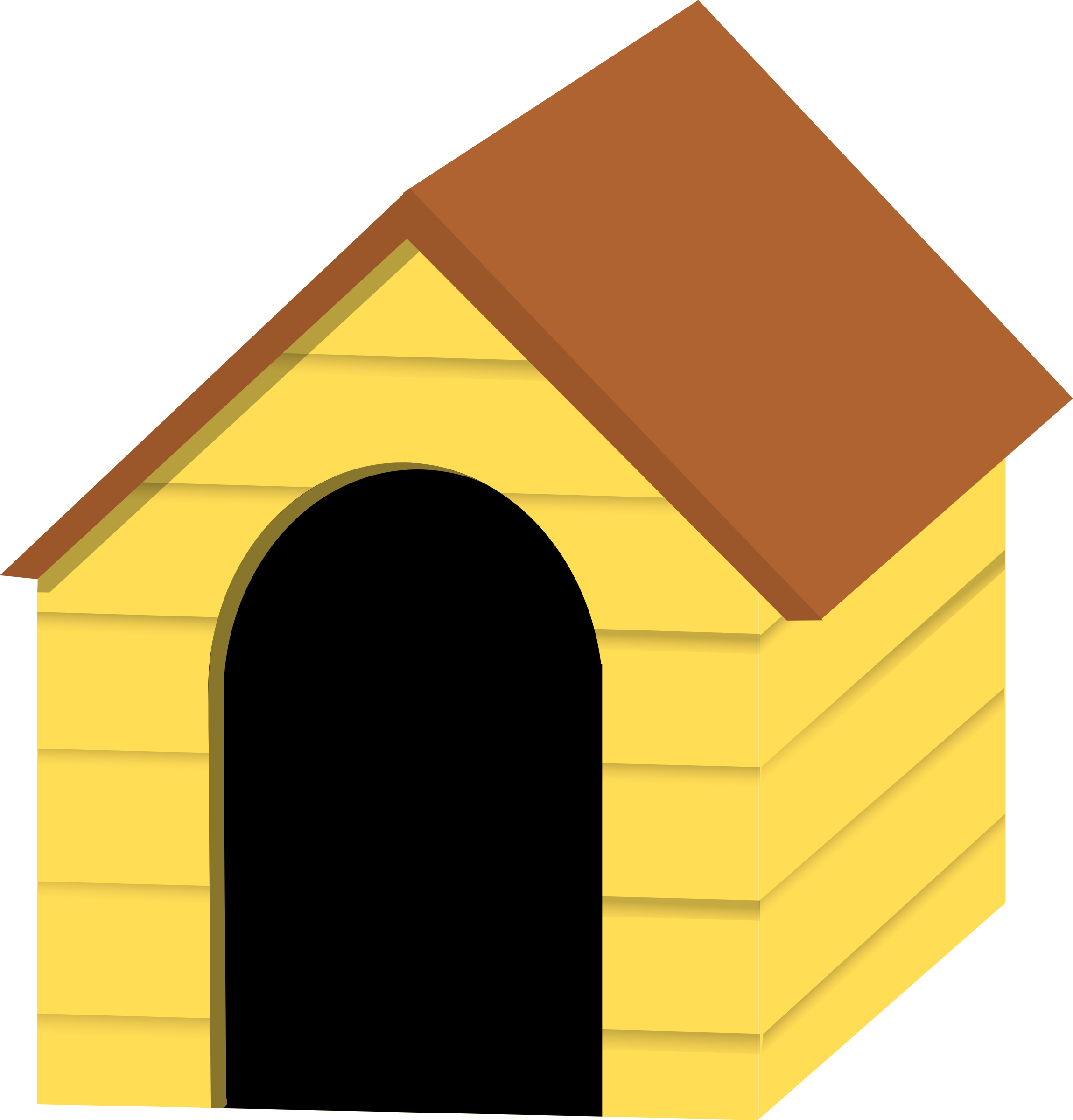 Clipart dog house picture freeuse library Image of Dog House Clipart #10384, Clipart Doghouse - Clipartoons picture freeuse library
