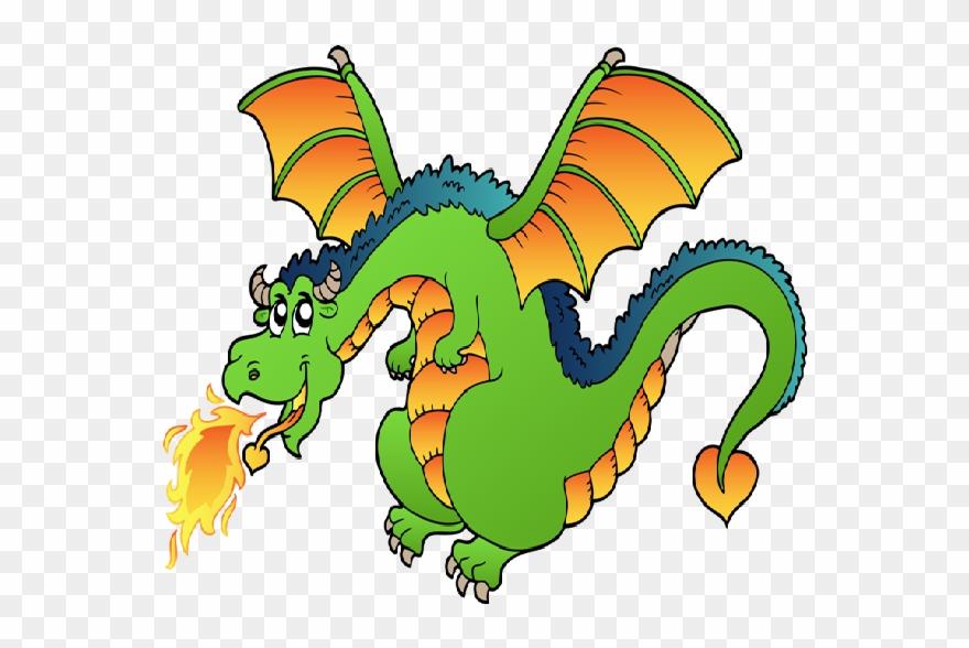 Cartoon dragon clipart clip art royalty free Dragon Clipart Free Funny Dragons With Flames Cartoon - Fire ... clip art royalty free