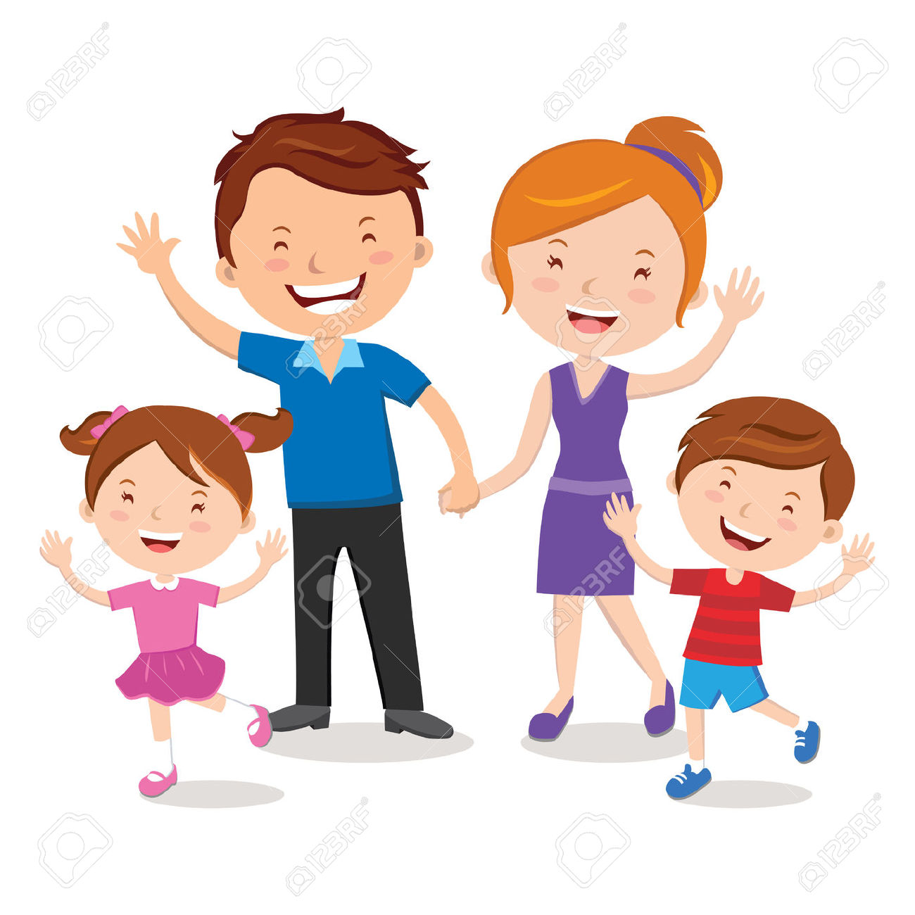 Clipart faimly picture transparent stock Cartoon Family Clipart | Free download best Cartoon Family Clipart ... picture transparent stock
