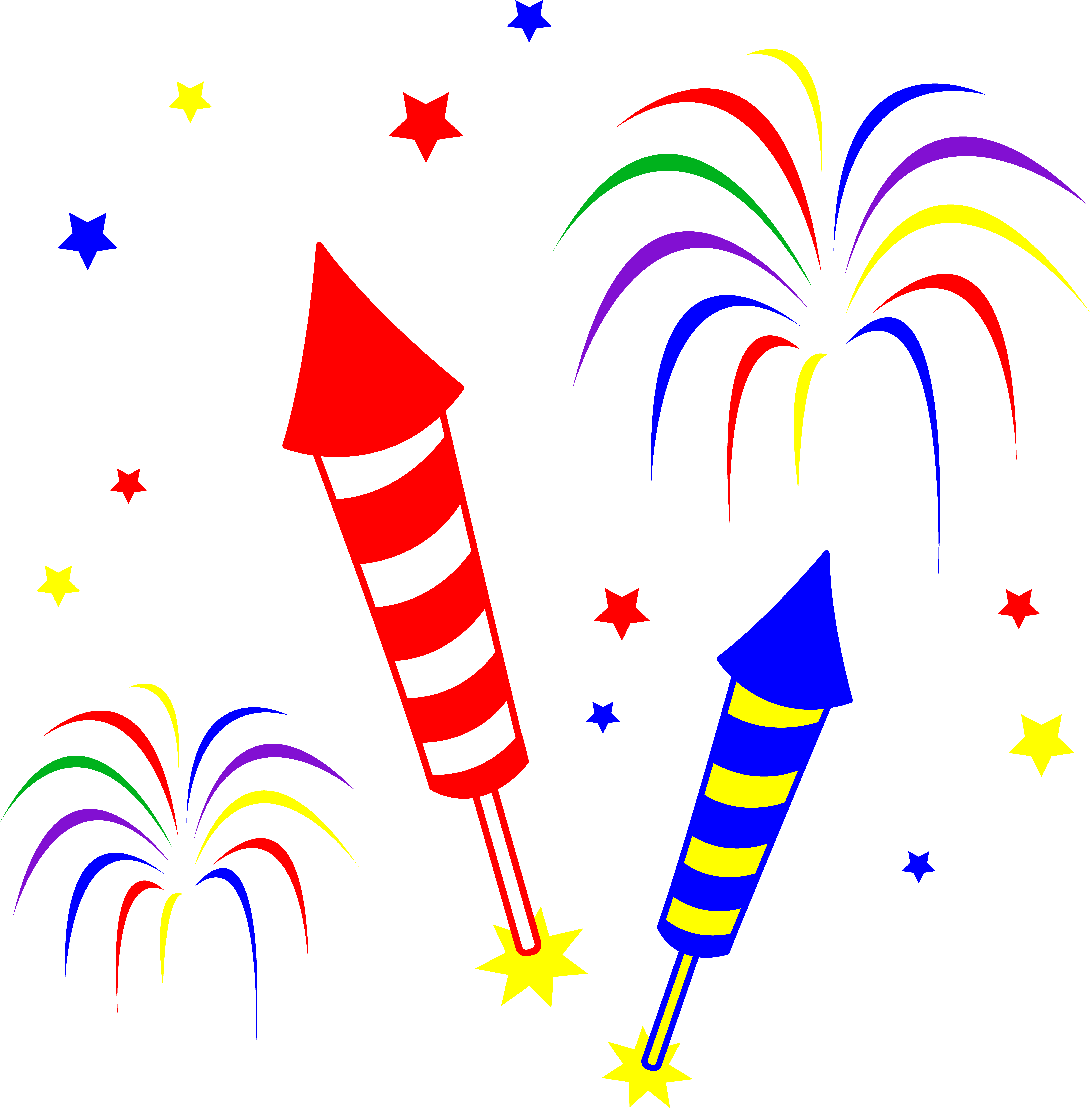 New years fireworks clipart banner royalty free library Firework Cartoon Clipart | Free download best Firework Cartoon ... banner royalty free library