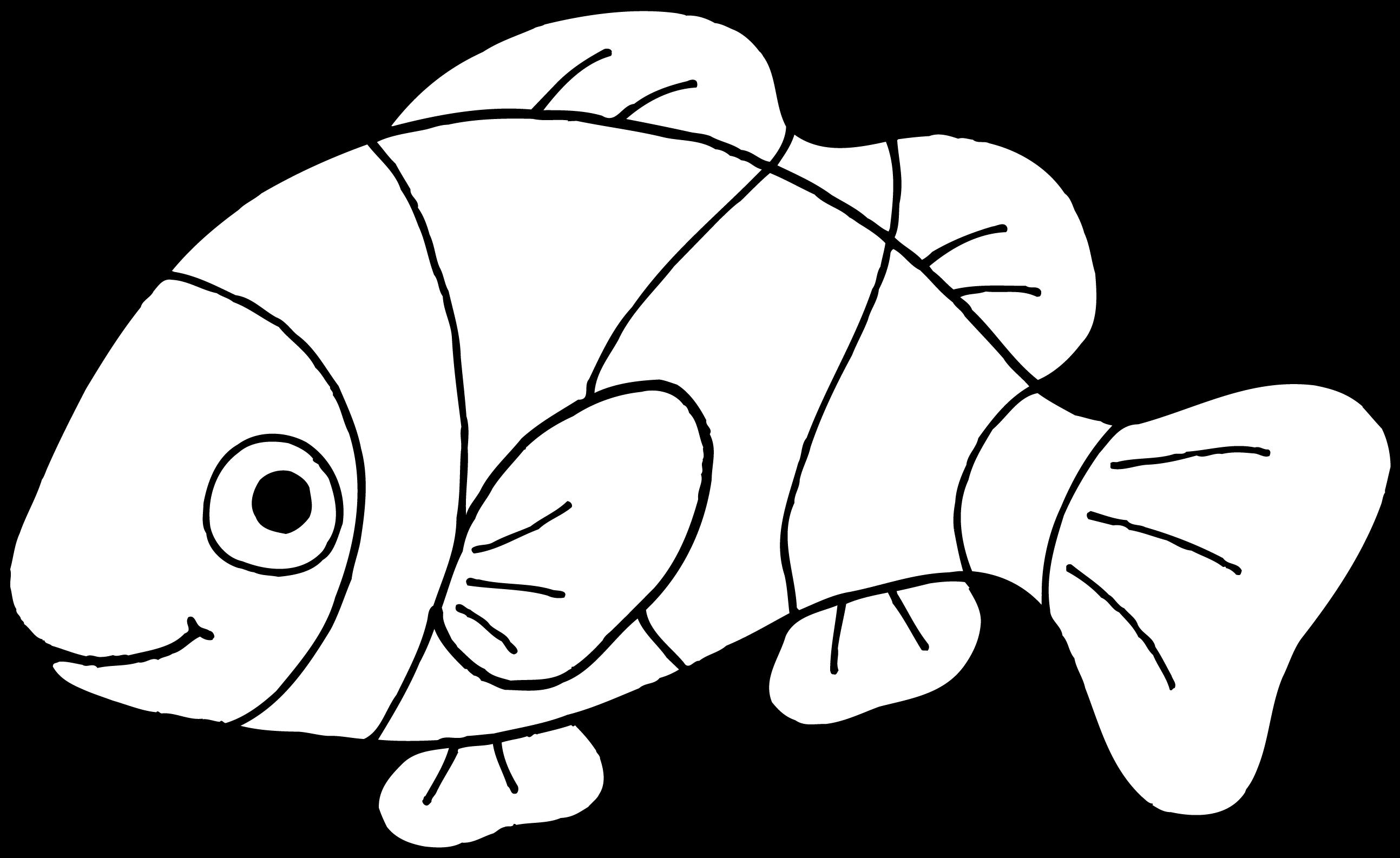 Cartoon fish clipart black and white transparent background image transparent stock Fish black and white image clipart images gallery for free download ... image transparent stock