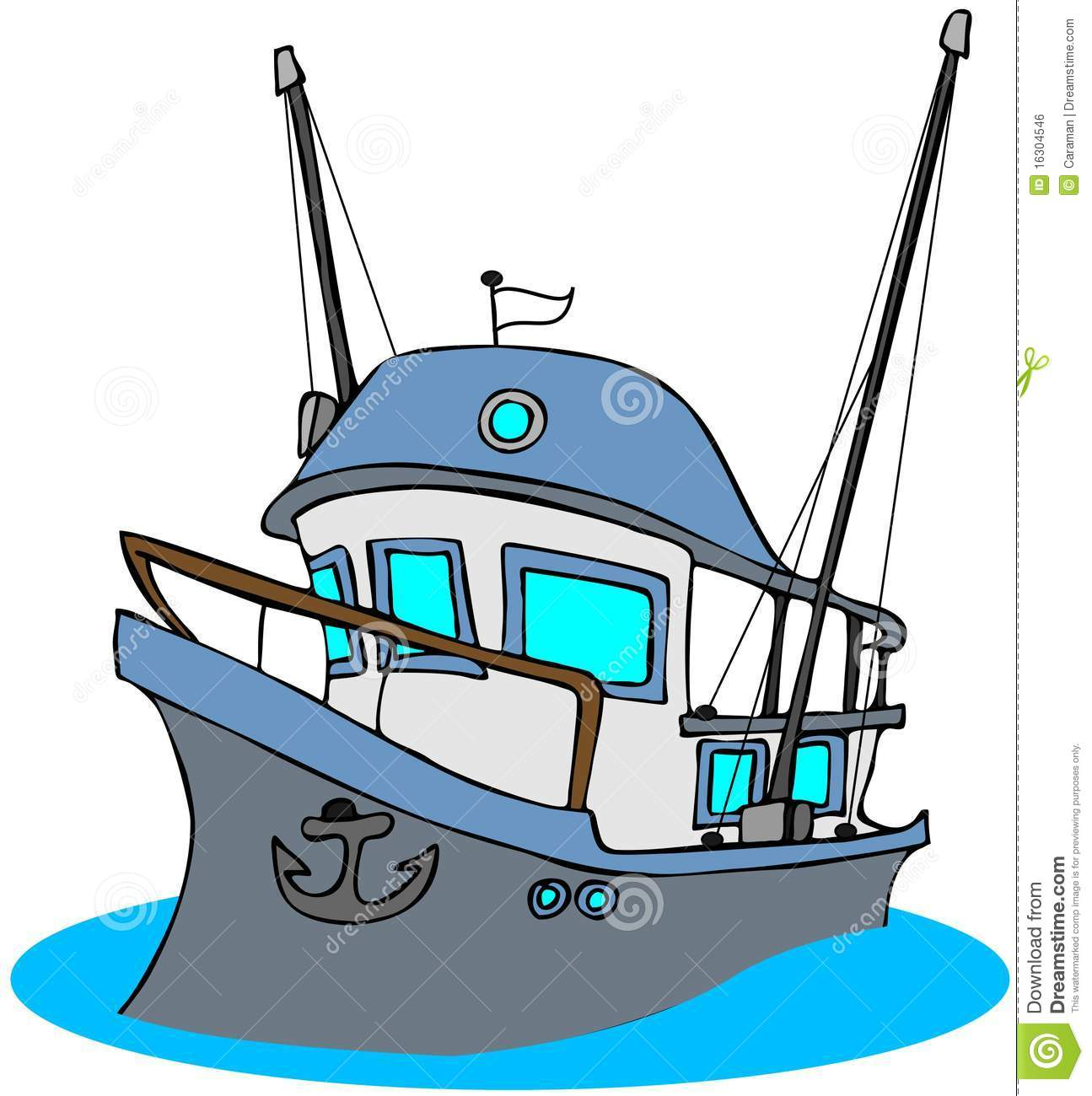 Cartoon fishing boat clipart picture Collection of Fishing boat clipart | Free download best Fishing boat ... picture