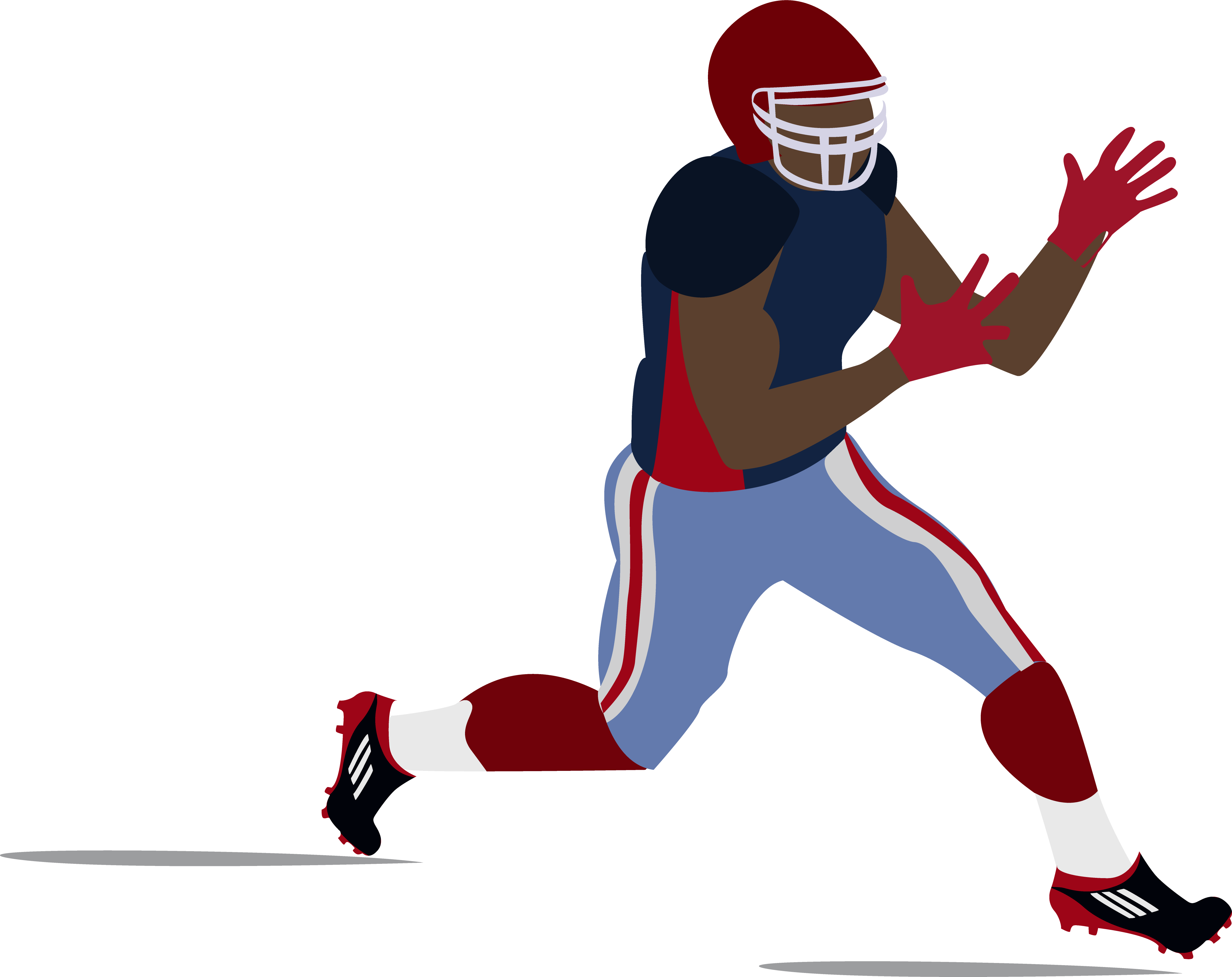Cartoon football player clipart clipart library library Quarterback Clipart | Free download best Quarterback Clipart on ... clipart library library