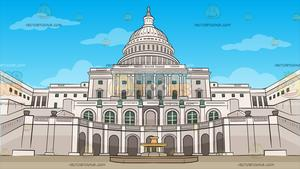 Cartoon government buildings aerial viewstate capitol clipart image royalty free library Us Capitol Grounds Background image royalty free library