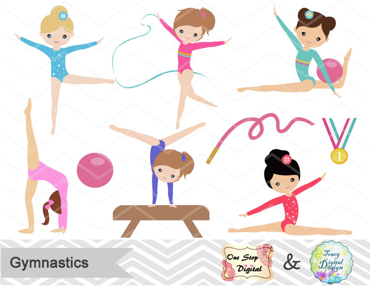 Gymnastics clipart images image freeuse stock Free Girl Gymnastics Cliparts, Download Free Clip Art, Free Clip Art ... image freeuse stock
