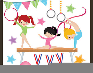 Cartoon gymnastics clipart clip royalty free download Animated Gymnastic Clipart | Free Images at Clker.com - vector clip ... clip royalty free download