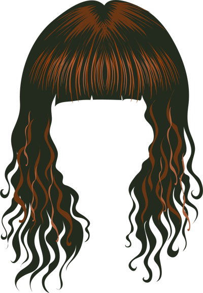 Cartoon hair clipart vector library stock Free Cartoon Hair Transparent, Download Free Clip Art, Free Clip Art ... vector library stock