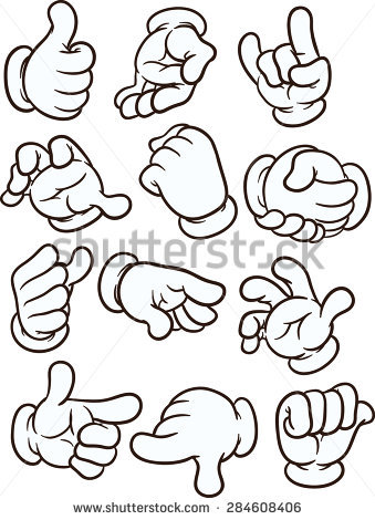 Cartoon hand clipart picture library Cartoon Hands Stock Images, Royalty-Free Images & Vectors ... picture library