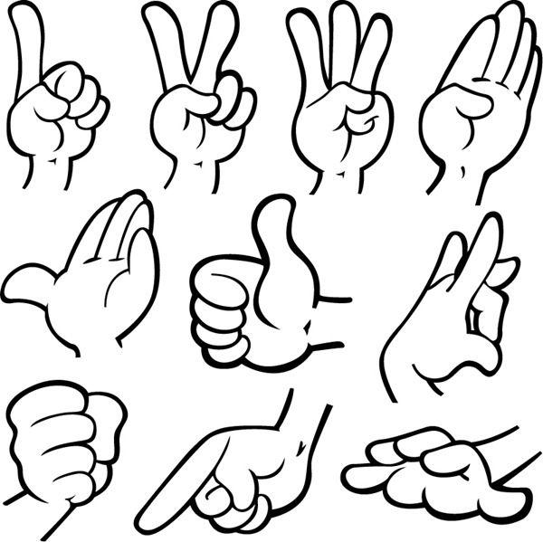 Cartoon hands clipart svg download Cartoon Hand Clip Art - Cliparts.co | Random | Cartoon drawings ... svg download