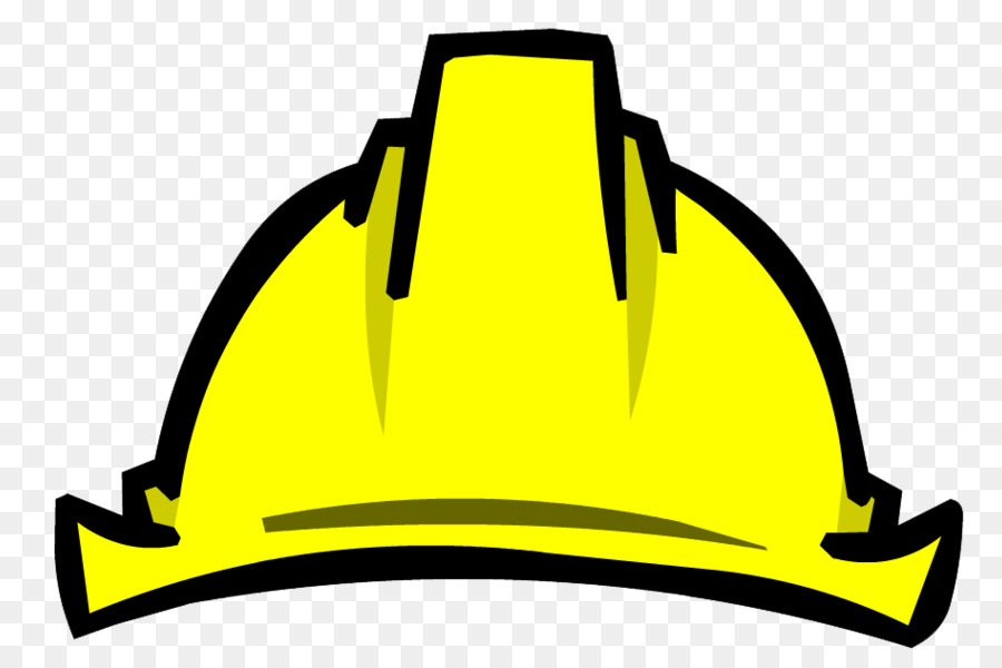 Cartoon hard hat clipart picture library Hat Cartoon clipart - Hat, Construction, Yellow, transparent clip art picture library
