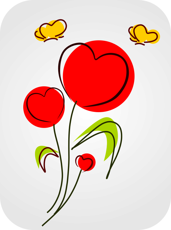Cartoon heart clipart svg free stock Heart Clipart Clipart flower clipart - Free Clipart on ... svg free stock