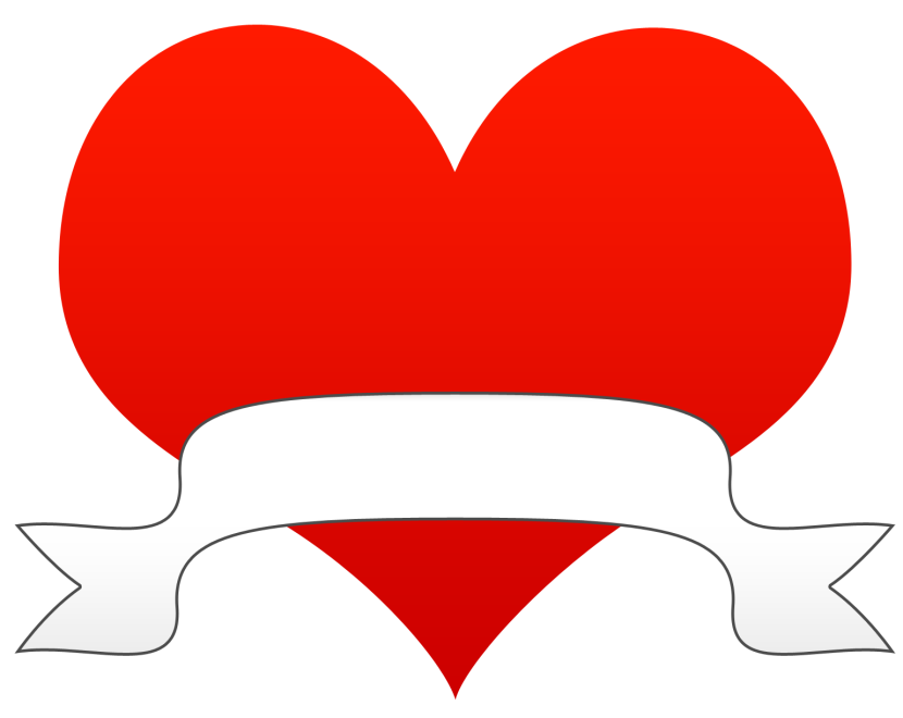 Cartoon heart clipart png black and white Heart Clipart - Clipartion.com png black and white