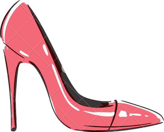 Cartoon high heels clipart banner royalty free library High Heel Shoe Clipart | Free download best High Heel Shoe Clipart ... banner royalty free library