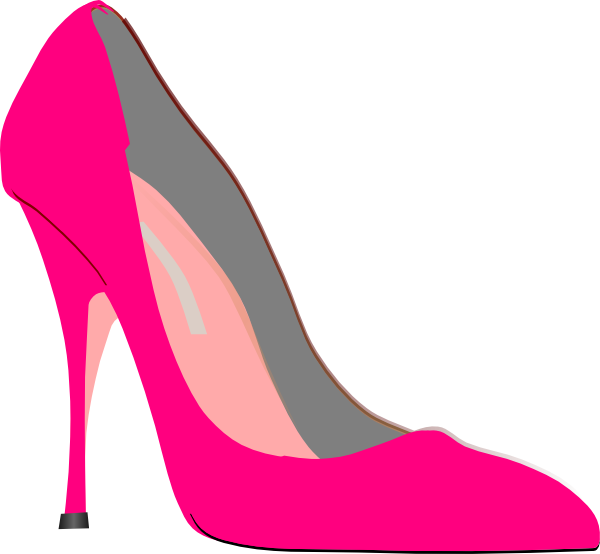 Cartoon high heels clipart png free library Heel Pink Clip Art at Clker.com - vector clip art online, royalty ... png free library