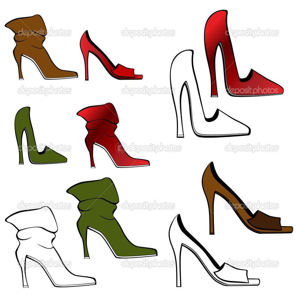 Cartoon high heels clipart clip free download Cartoon High Heel Shoe Clipart - Free Clip Art Images | Shoe Art ... clip free download