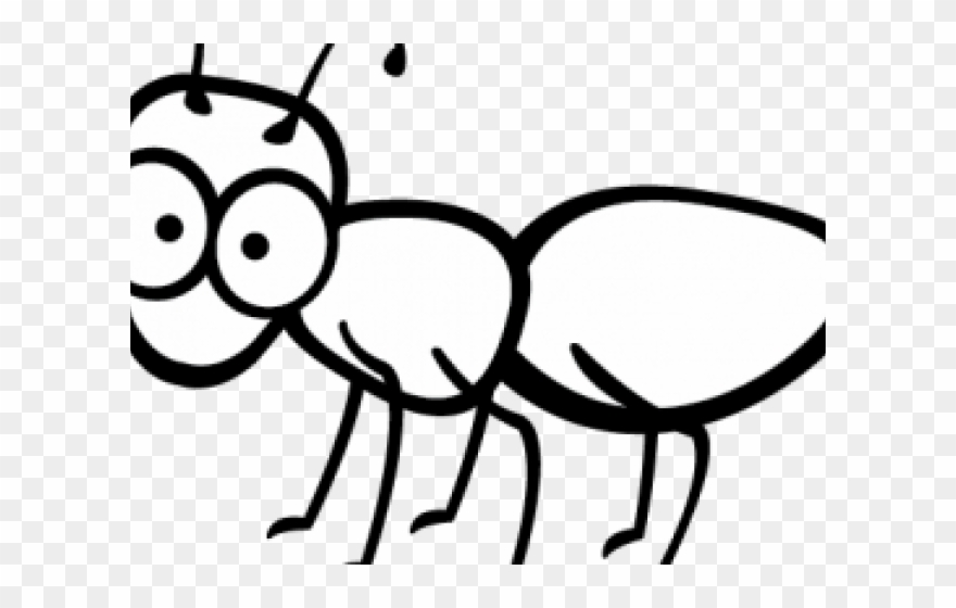 Ants Clipart Outline - Cartoon Ant Clip Art - Png Download (#4445779 ... graphic royalty free