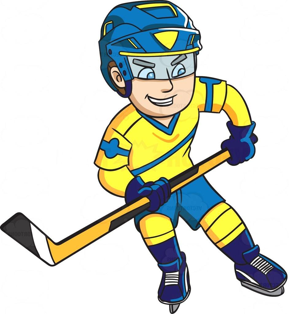 Cartoon hockey player clipart clip royalty free library Hockey Player Cartoon Free Download Clip Art - WebComicms.Net clip royalty free library