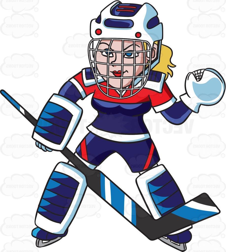 Cartoon hockey player clipart jpg library download Unique Cartoon Hockey Player Clip Art Drawing » Free Vector Art ... jpg library download
