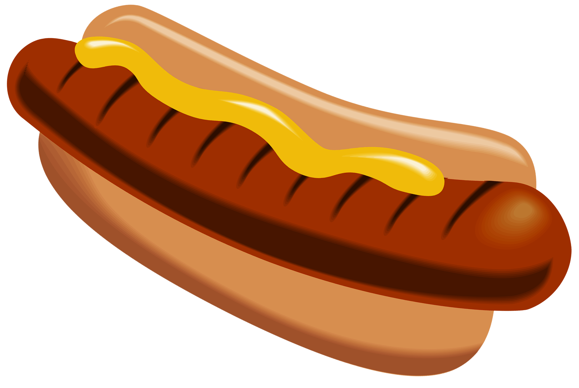 Vintage hot dog clipart clip art library Hot Dog with Mustard PNG Clipart Picture | Gallery Yopriceville ... clip art library