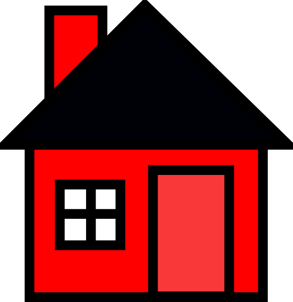 Clipart house roof