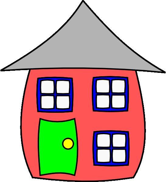 Cartoon houses clipart image library download Cartoon House Clip Art at Clker.com - vector clip art online ... image library download