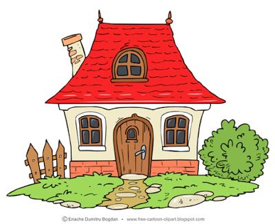 Cartoon houses clipart vector transparent download Free Cartoon Illustrations - Clipart - No Watermark Images ... vector transparent download